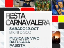 Se viene la Fiesta Carnavalera 2013