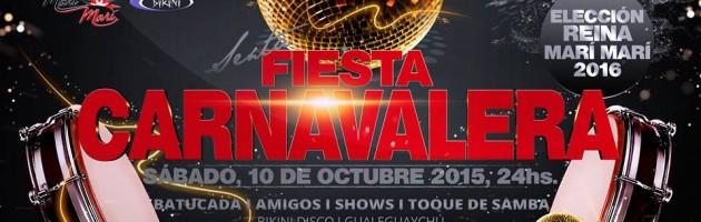 FIESTA CARNAVALERA – ELECCIÓN REINA MM2016